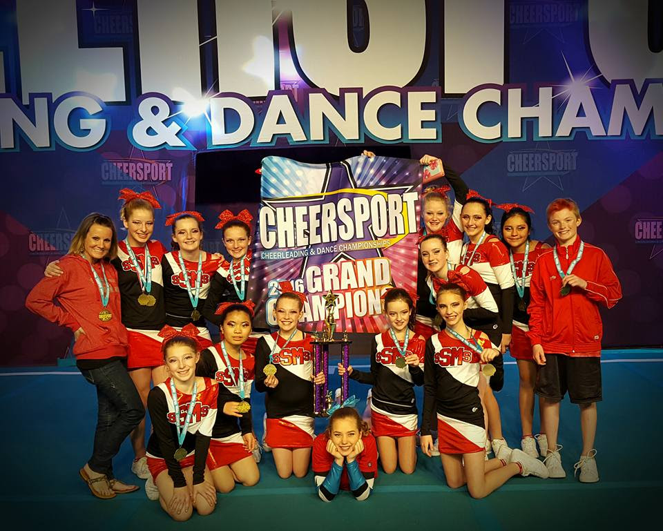 The Steamboat Springs Middle School Cheerleaders took 1st place yesterday 3/13/2016 in Denver. Team coach: Summer McParland. Submitted by Molly Waters.
