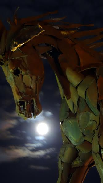 Wild Horse Moon Steamboat Springs Submitted by Ann Hogan.