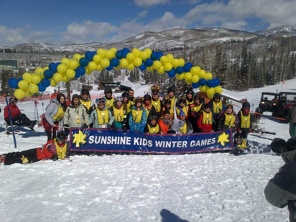 """An awesome day with Sunshine Kids."" Submitted by David Franzel."
