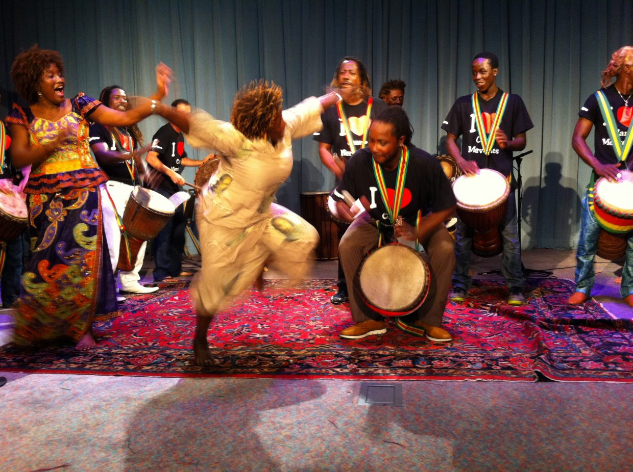 The Steamboat African Dance and Drum Ensemble and Perry-Mansfield Performing Arts School will present three West African community dance and drum classes with Guinean master teachers Sidiki Sylla and Seny Daffe on Sunday, Sept. 23.