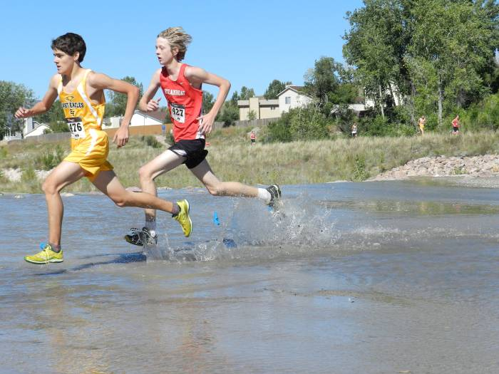 Steamboat High School Cross Country- Erik Rudolph at Fox and Hound Invitational in Colorado Springs. Submitted by: Greg Long