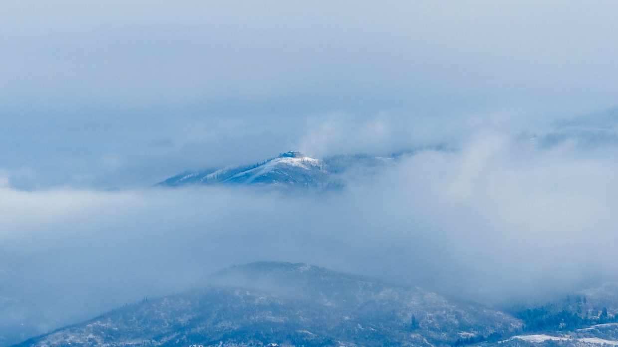 Between the clouds. Submitted by Mary Marovich.