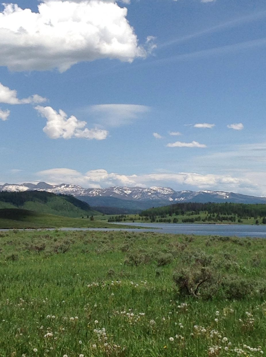 Steamboat Lake State Park on Monday. Submitted by: Ann Benteen