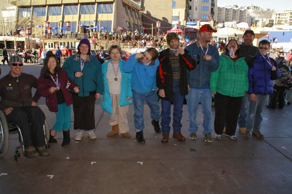 Special Olympics 2014 Alpine Team with STARS Director Craig Kennedy and Coach Tommy Moore. Submitted by Tommy Moore.