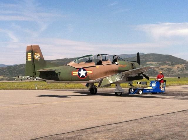 Wild West Air Fest. Submitted by Curt Merchant, Steamboat.
