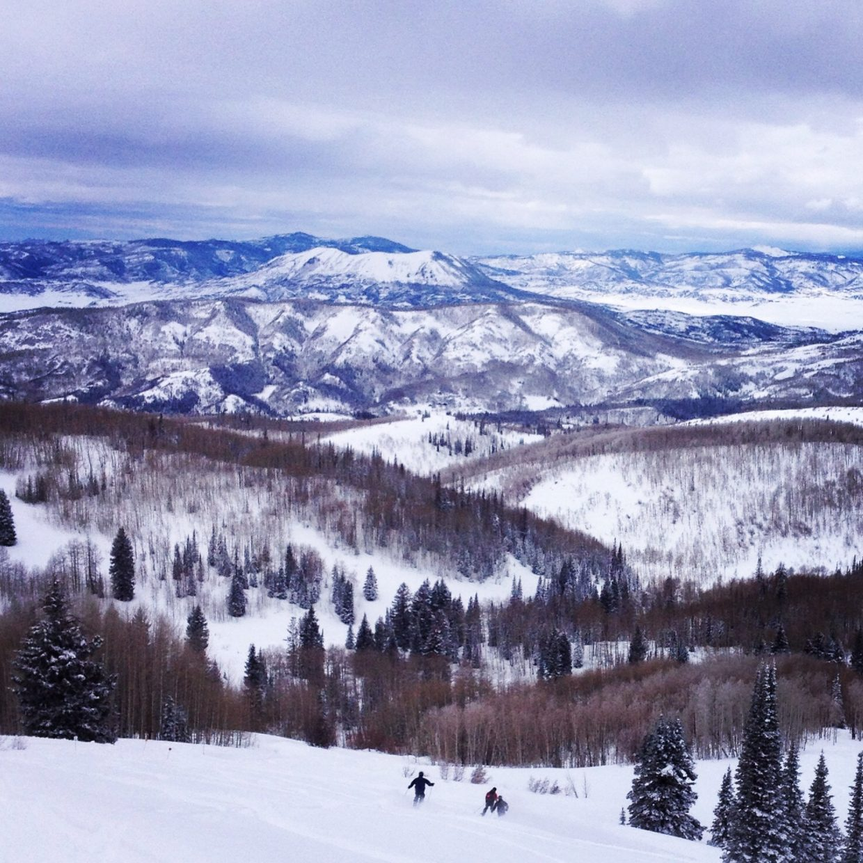 A great day up on Buff. Submitted by: Zac Barbiasz