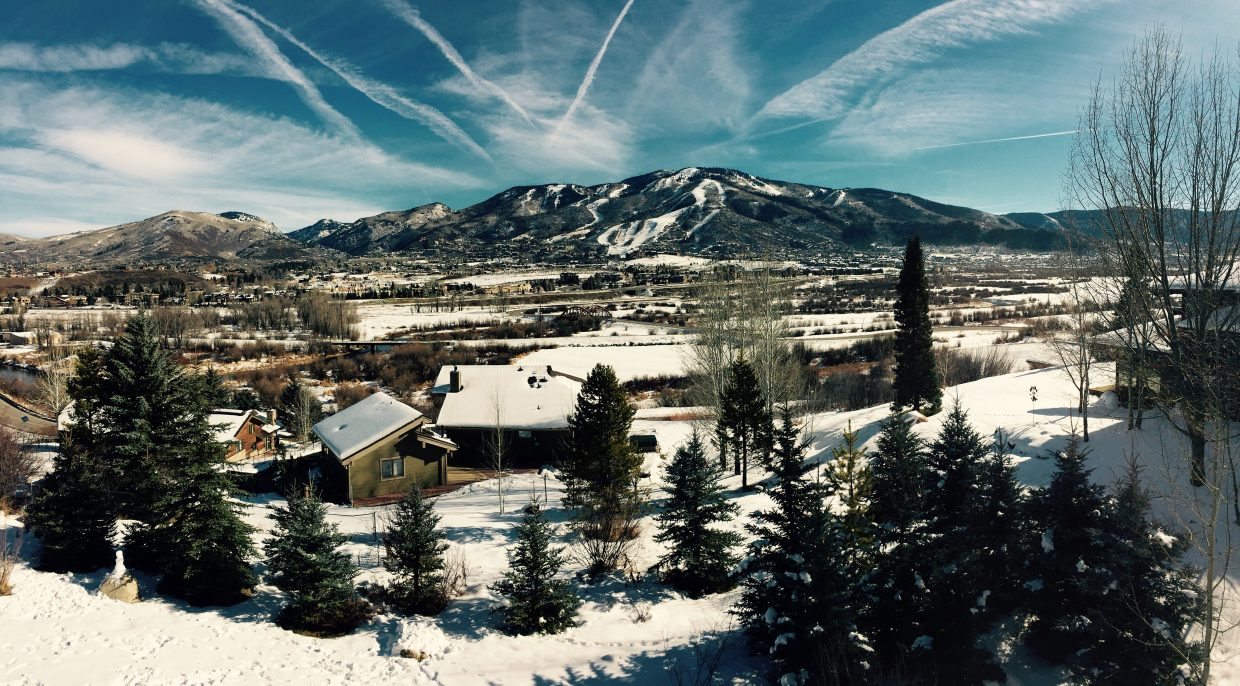 Steamboat ski resort from the Tree Haus. Submitted by Aubrey Hicks.