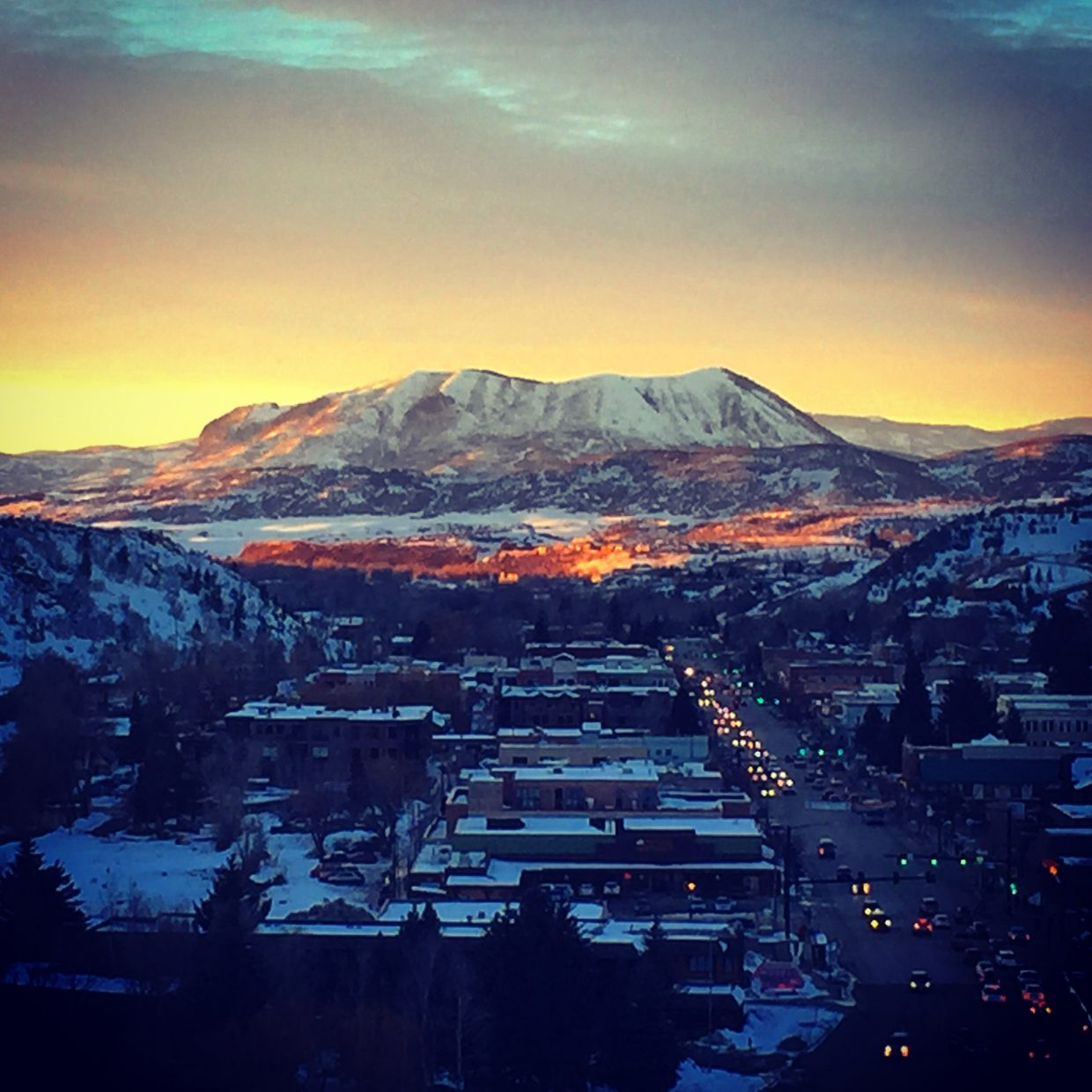 Sleeping Giant at sunset. Photo submitted by: Jessica Scroble.