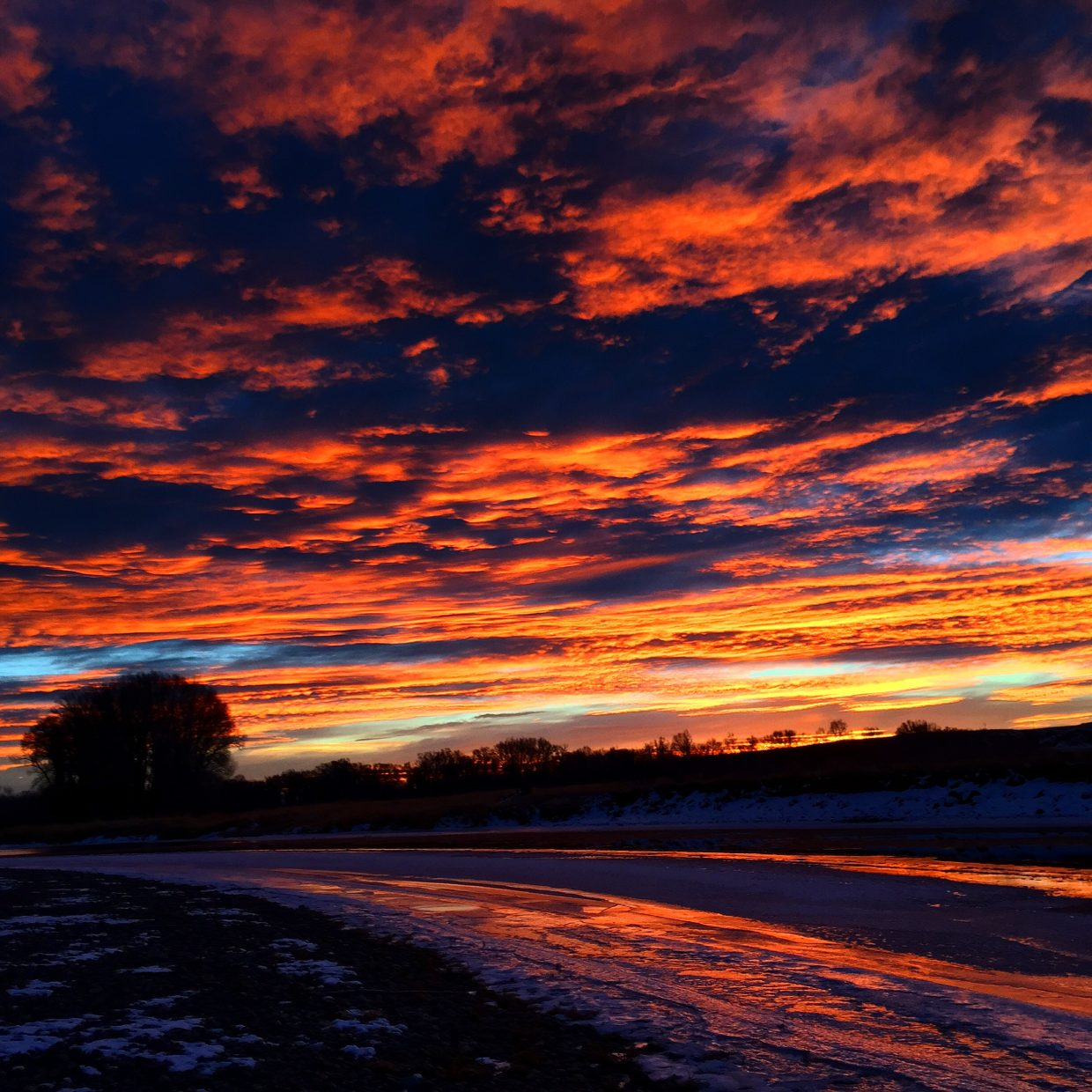 Sunrise in Hayden. Submitted by Michelle.