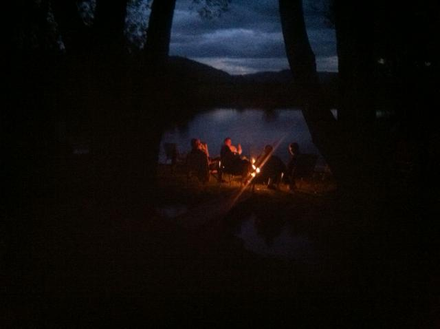 Late summer s'mores at Lufkin Pond. Submitted by Curt Merchant, Steamboat.