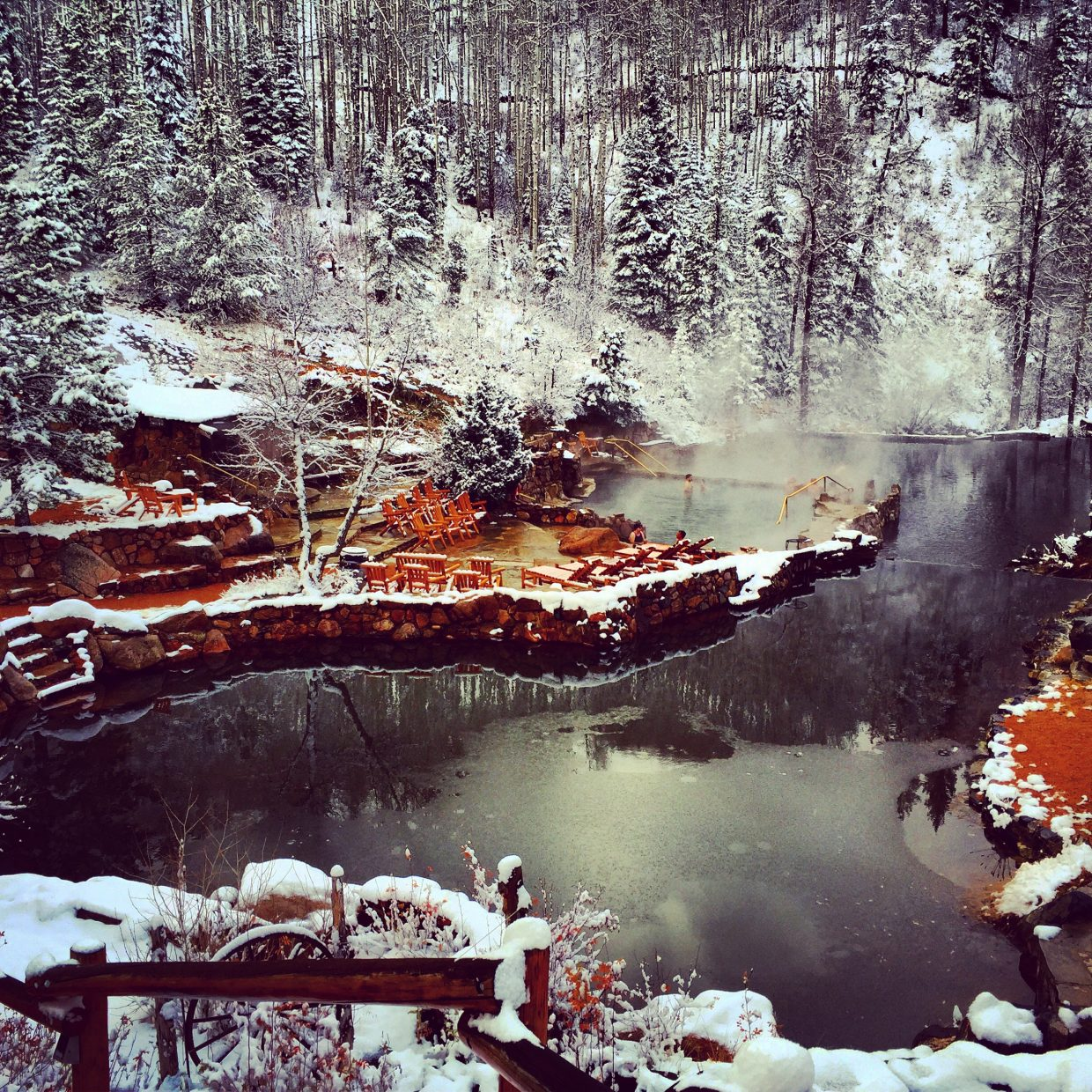 Fun times at Strawberry Hot Springs. Submitted by Jessica Scroble.