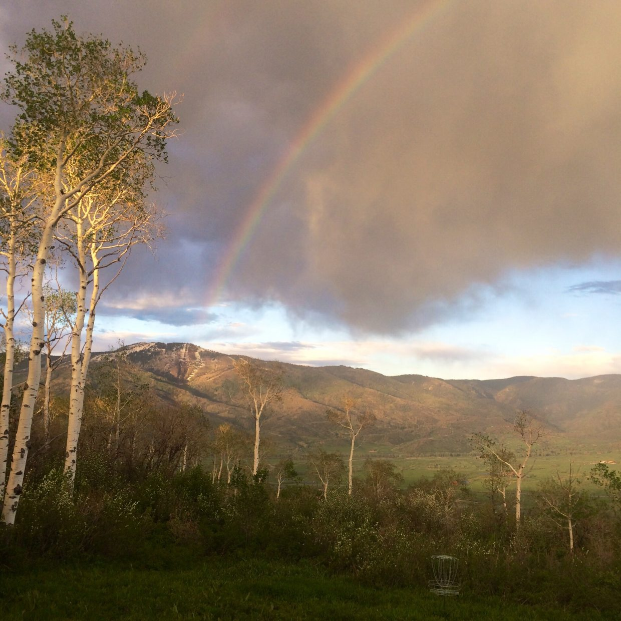 Rainbow views. Submitted by: Josh Cook
