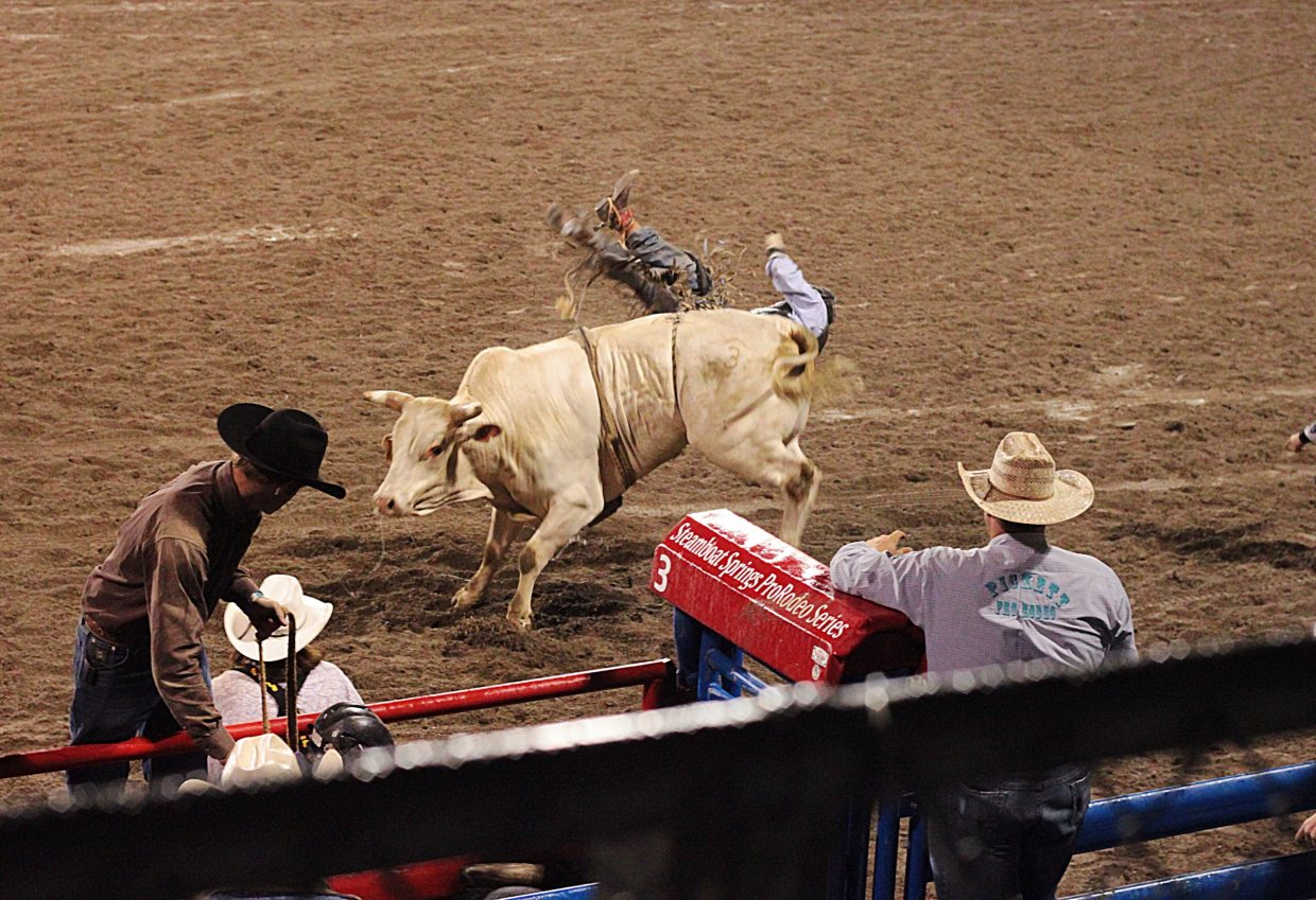 Pictures from Saturday nights rodeo in steamboat  Submitted by Kate Johnson.