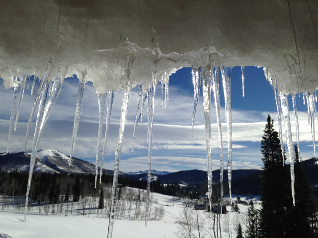 Almost Spring Suncicles North Routt