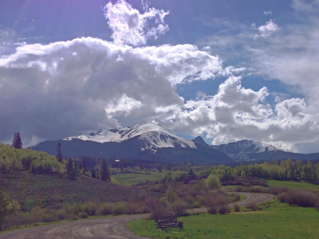A beautiful day in Silverthorne. Submitted by: Jeff Hall