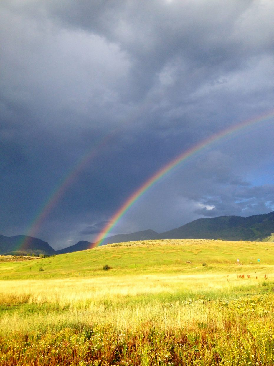 There's gold at the end of those rainbows. Submitted by: Catherine Kurtz