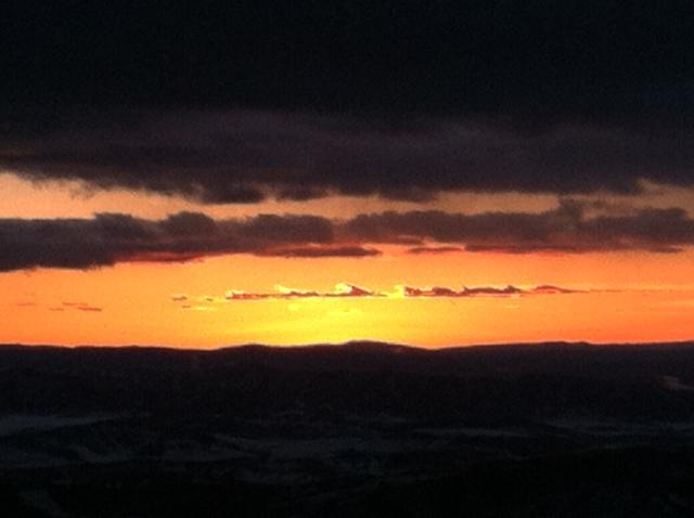 Sunset from Four Points. Submitted by: Curt Merchant