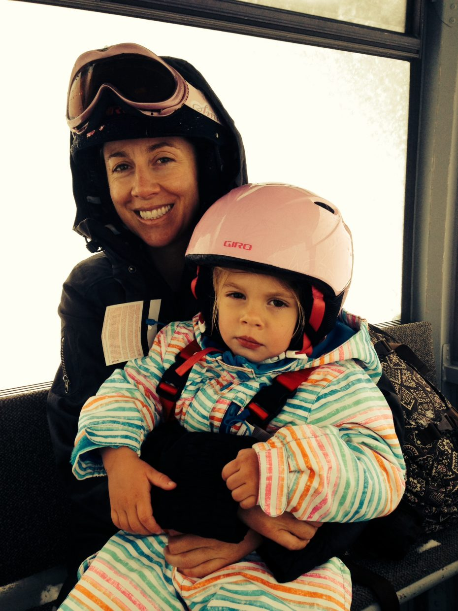 Last day of our ski season. Submitted by: Michelle Wetzler