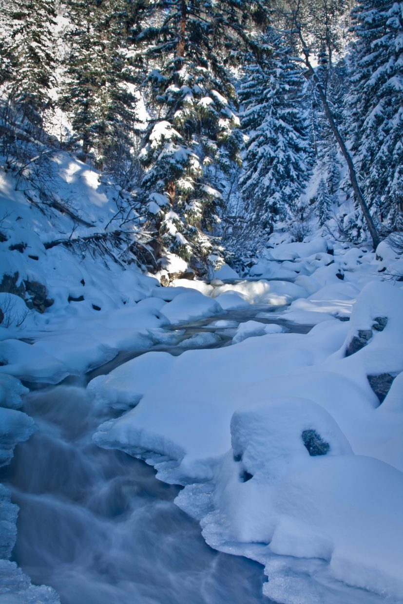 Frosty Fish Creek. Submitted by: Greg Sagan