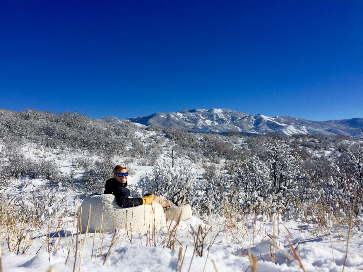 Bluebird days in Steamboat are the best! Submitted by Madison Slater.