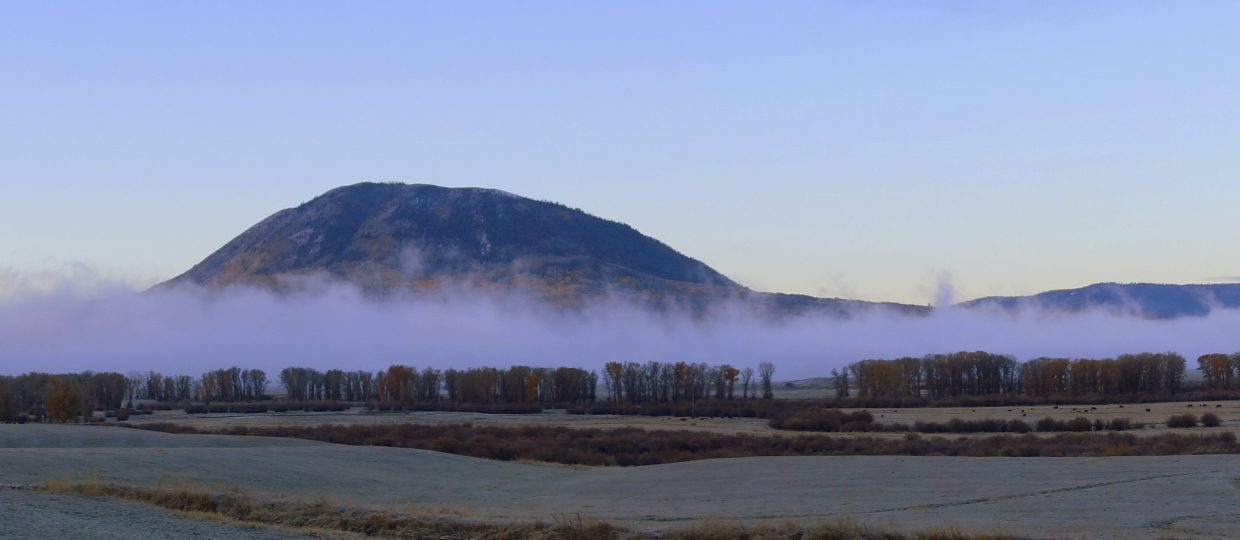 Misty Elk River morning. Submitted by: Diane Miller
