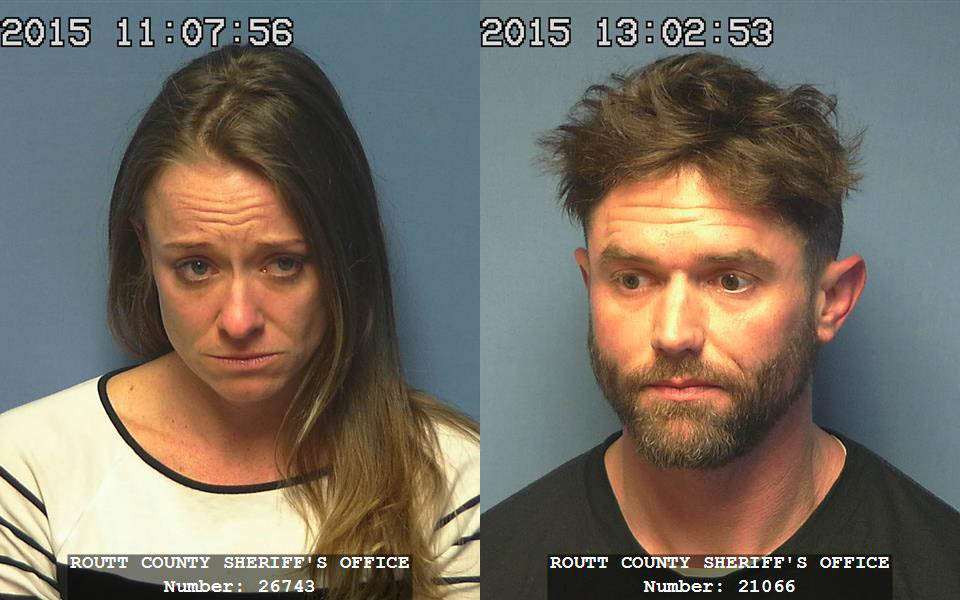 Lucas and Kristen Johnson are being held at the Routt County Jail on suspicion of charges related to first-degree murder.