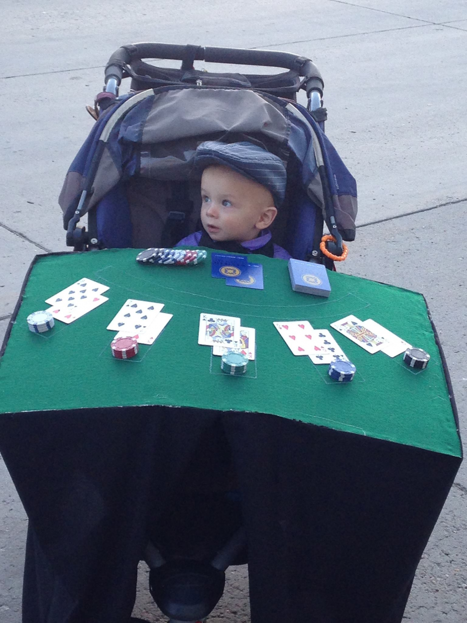 Oliver the blackjack dealer. Submitted by: Alison Moore.