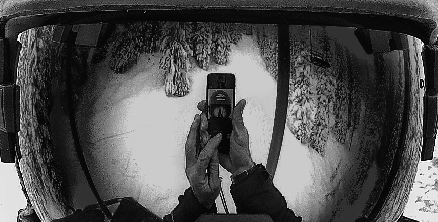 Reflection of a cold, January day at Steamboat Ski Area. Submitted by: Chris Lanham