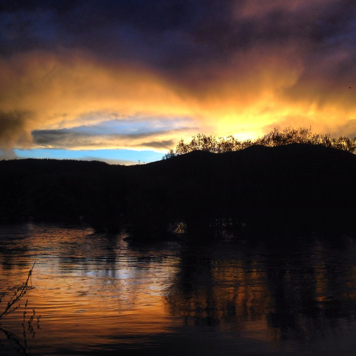 Sunset over Walton Creek. Submitted by: Chris Thomas
