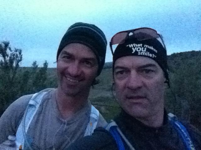 The Kelly brothers getting ready for the Fruita trail marathon! Submitted by Michael Kelly.