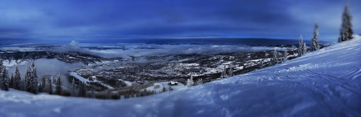 View from atop Storm Peak. Submitted by Chris Lanham.