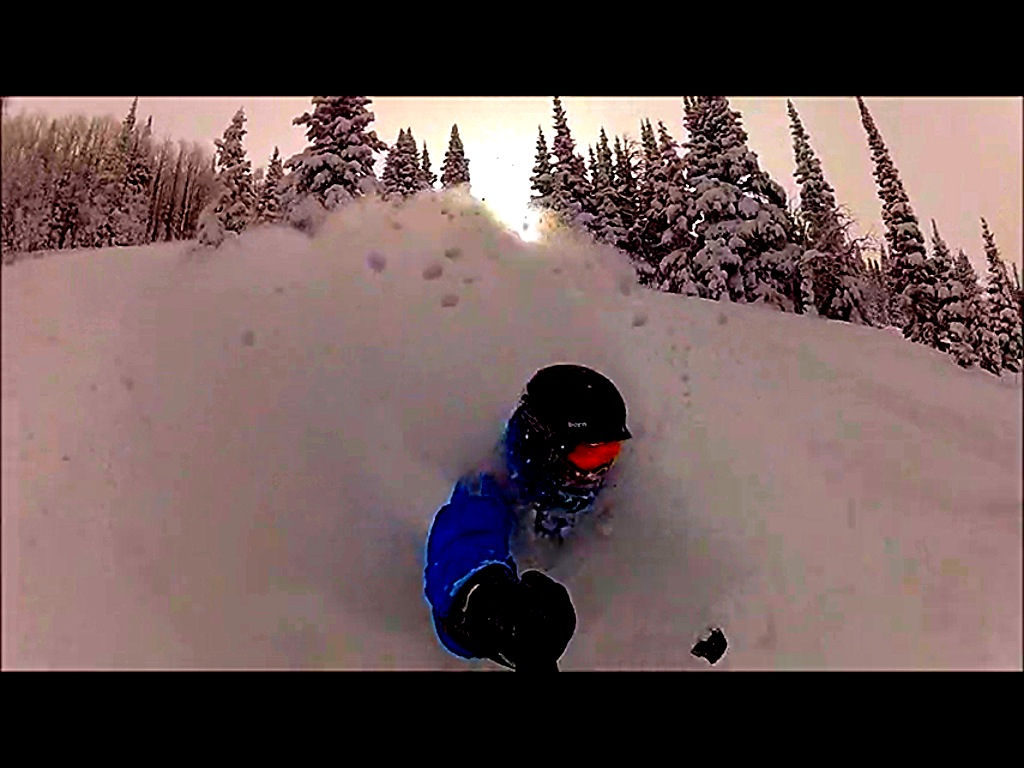 Pow day in the 'boat. Submitted by Lucas Kidd.