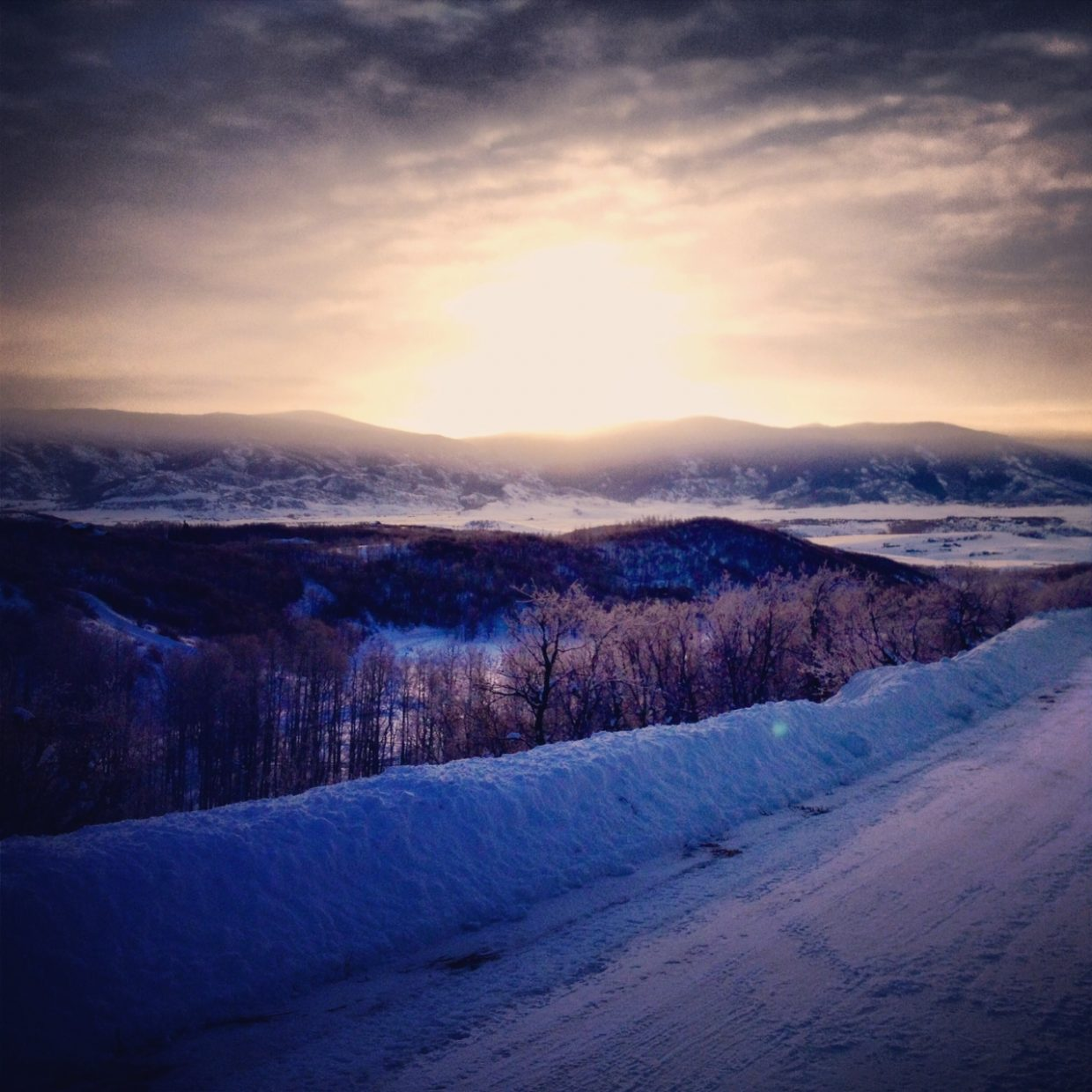 On the way to Steamboat Ski Area on Wednesday morning. Submitted by Sonia Kuldalsky.