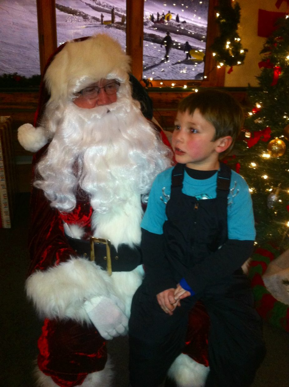 Thank you Rotary Club Santa! — Mateo Foss Rodriguez Submitted by: Kelley Rodriguez