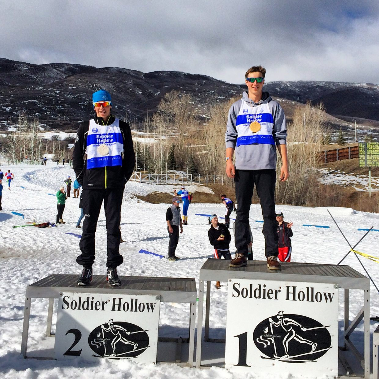 Noel won both days in the u-16 category. His sprint qualifier would have won u-18. Tyler finished just behind him in 2nd for his best race yet! Submitted by Josh Smullin.