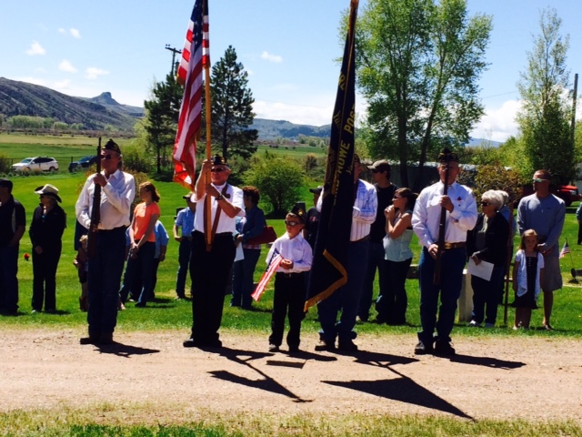 Memorial Day in Yampa. The boy's name is Tanner Wheeler. Submitted by: Diana Wheeler