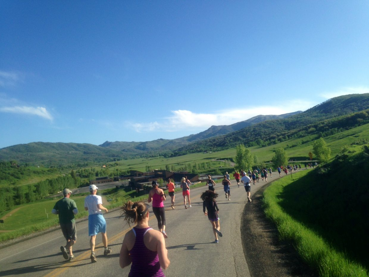 The Steamboat Marathon 10K. Submitted by: Beth Summerfield