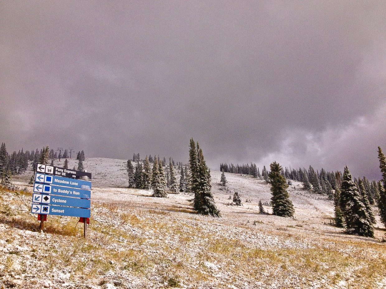 Storm Peak Snow. Submitted by: Greg Sagan