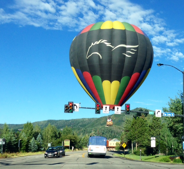Saturday morning traffic in Steamboat. Submitted by: Denise Gardner