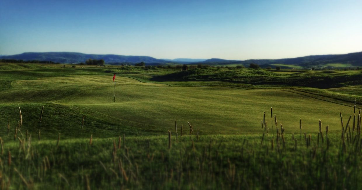 A beautiful afternoon at the Haymaker Golf Course. Submitted by: Chris Lanham