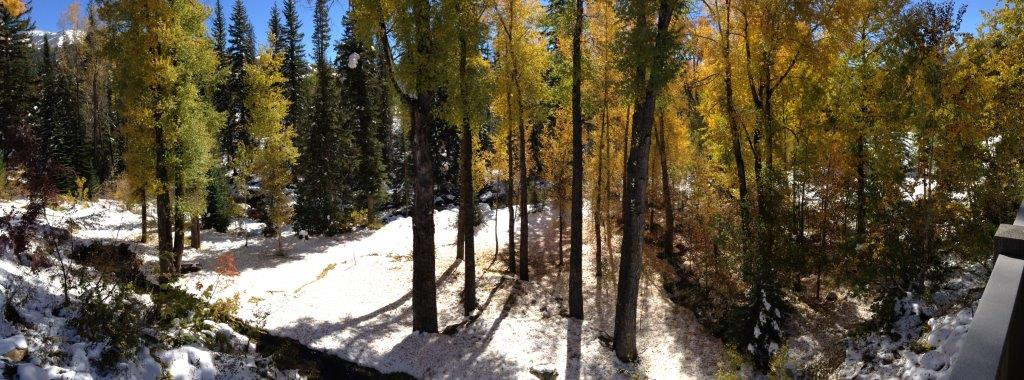 October on Fish Creek. Submitted by: Karen Lindeman
