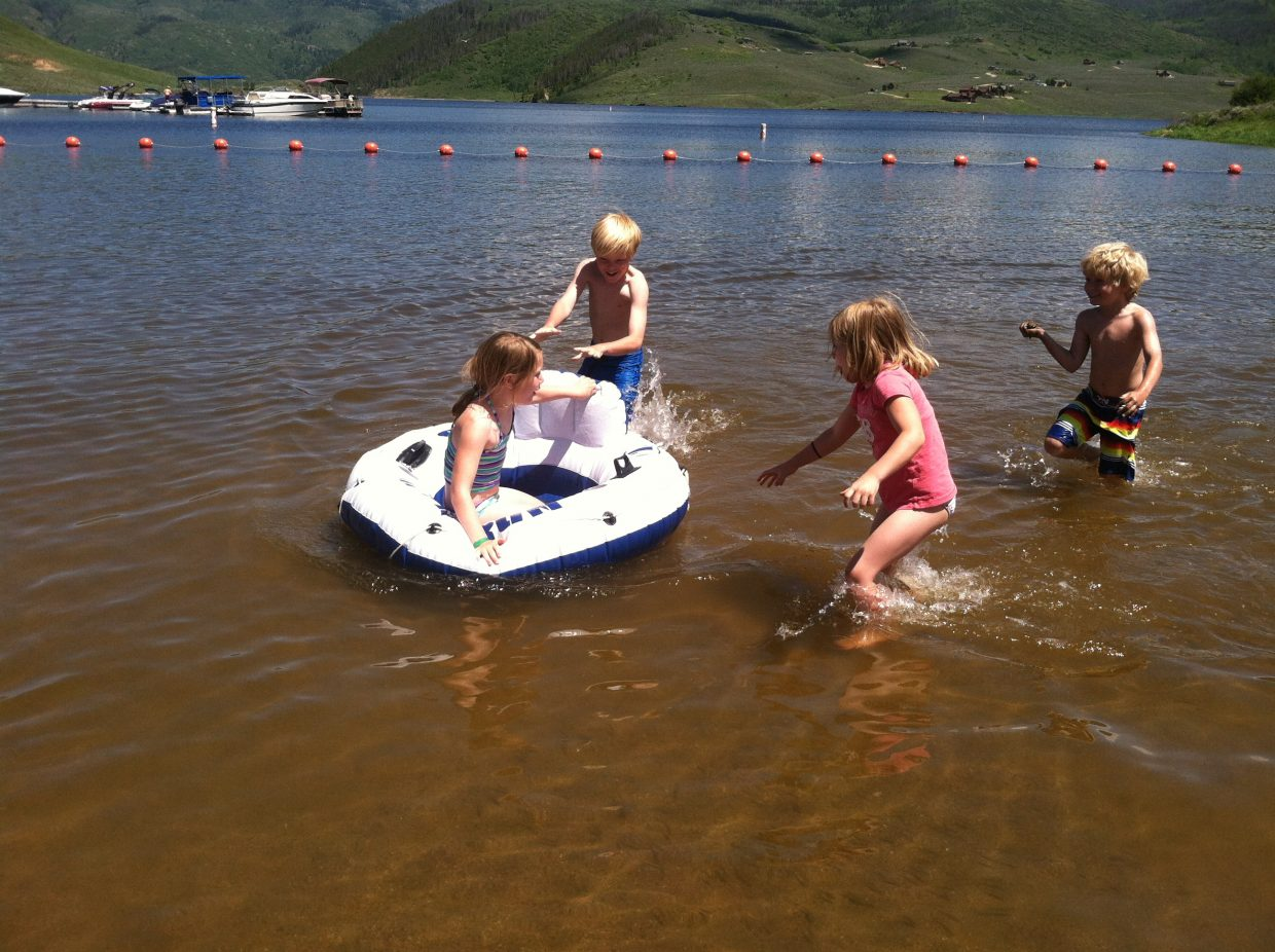 Tubing is a big hit with kids of all ages.