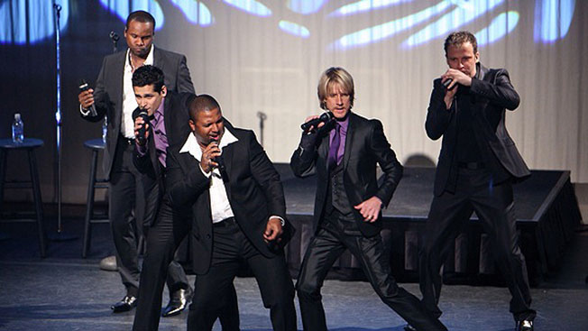 Rockapella to perform at Strings Music Pavilion this weekend.