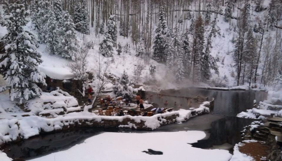 At Strawberry Park Hot Springs. Submitted by: Pam Reid