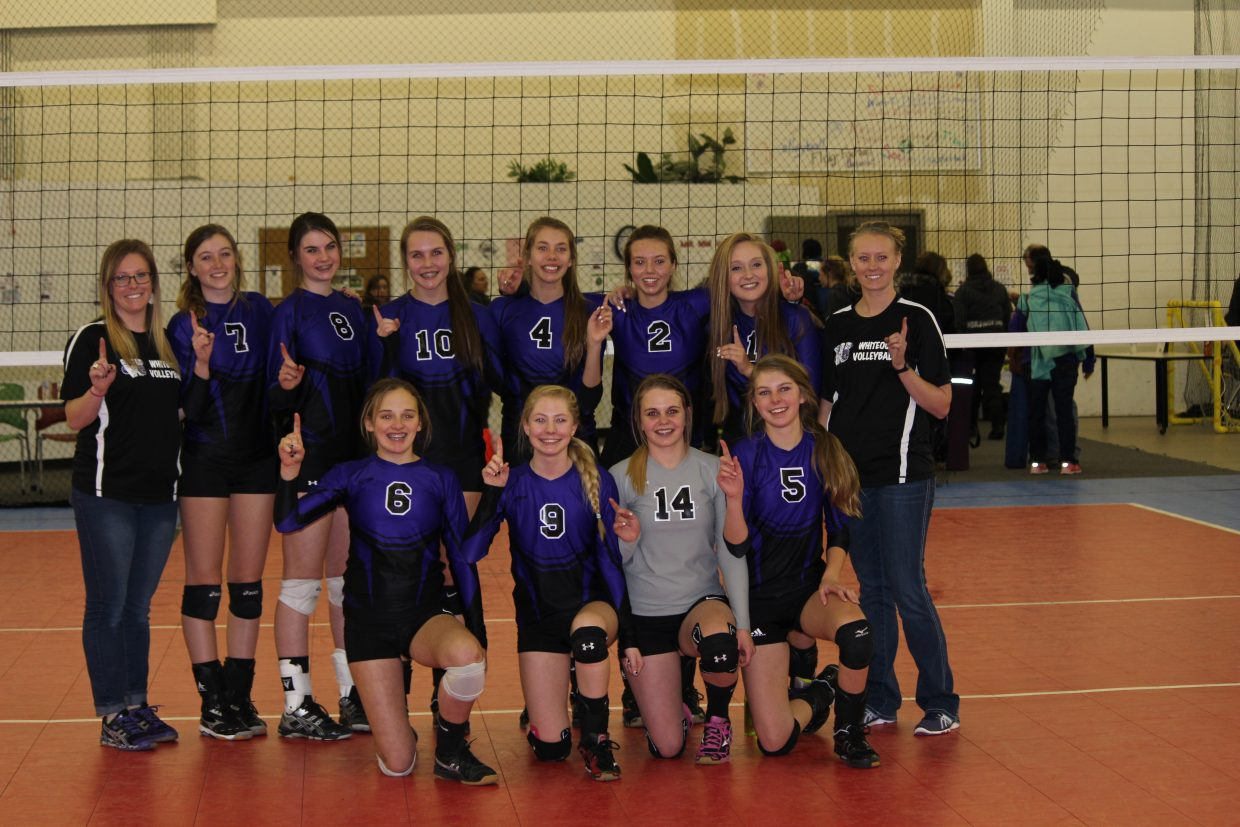 Whiteout Volleyball Club 16's takes 1st place at this weekend's tournament in Colorado Springs.