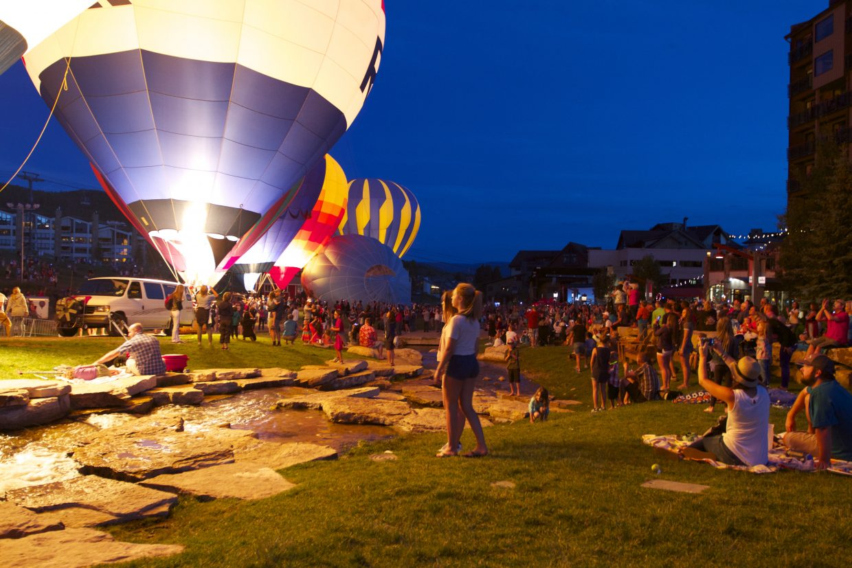 Balloon Glow. Submitted by Jen Summers.