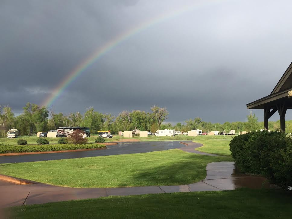 After the rain at Yampa River State Park. Submitted by Laura Schrettner.