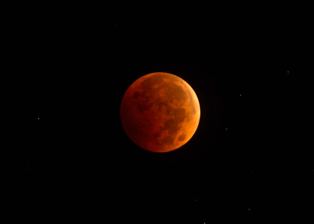 Lunar Eclipse. Submitted by Toby Leeson.