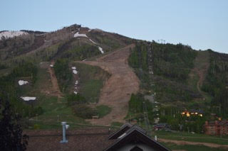 Where is the green? Did they kill the mountain? Submitted by Joe Gerze.