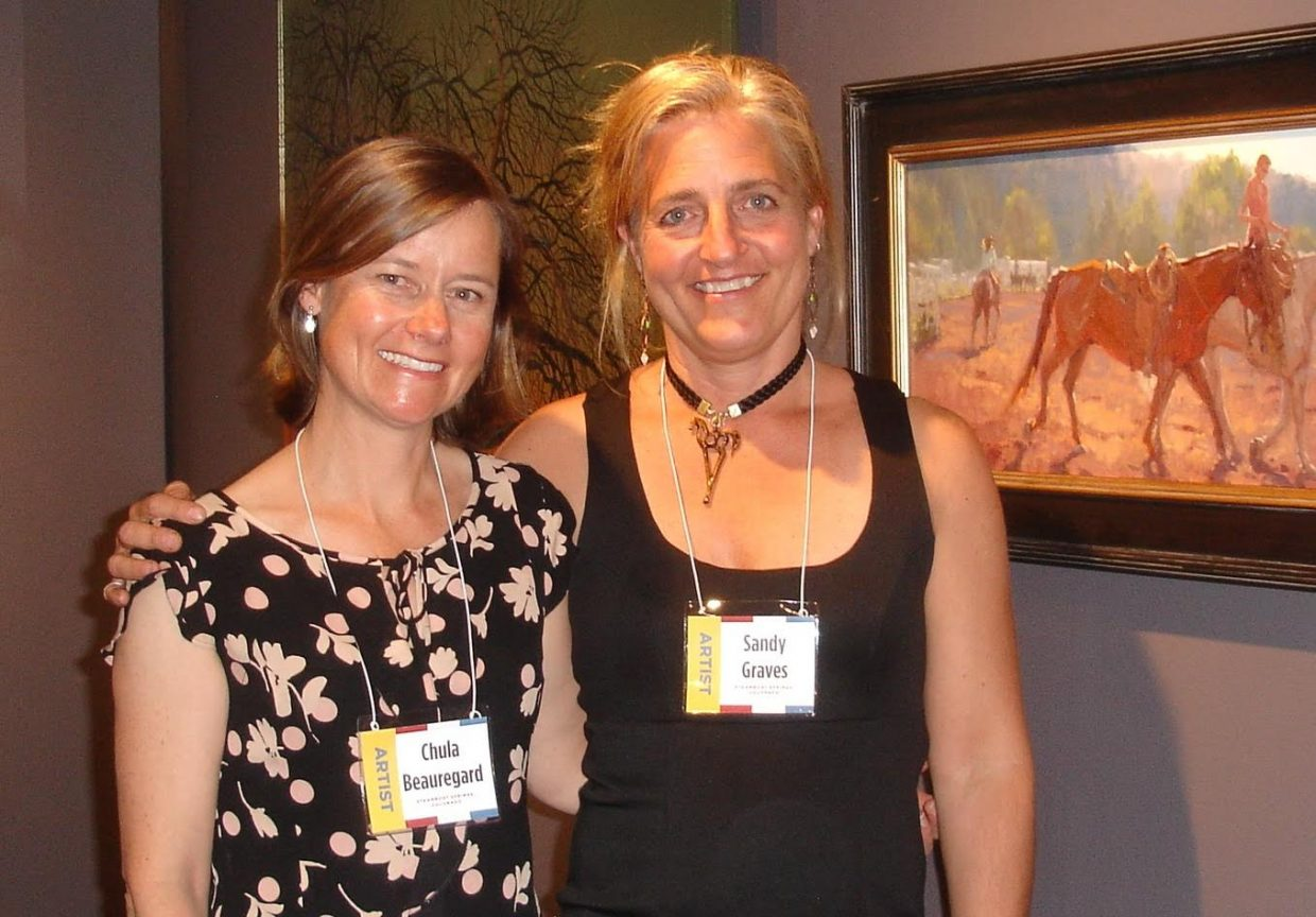 wo of our local Steamboat artists are in the 2016 Governors Art Show, Sandy Graves and Chula Beauregard were accepted into this prestigious Colorado show. The show is taking place at the Loveland Art Museum through May 31st. Submitted by Rachael Shiebler.